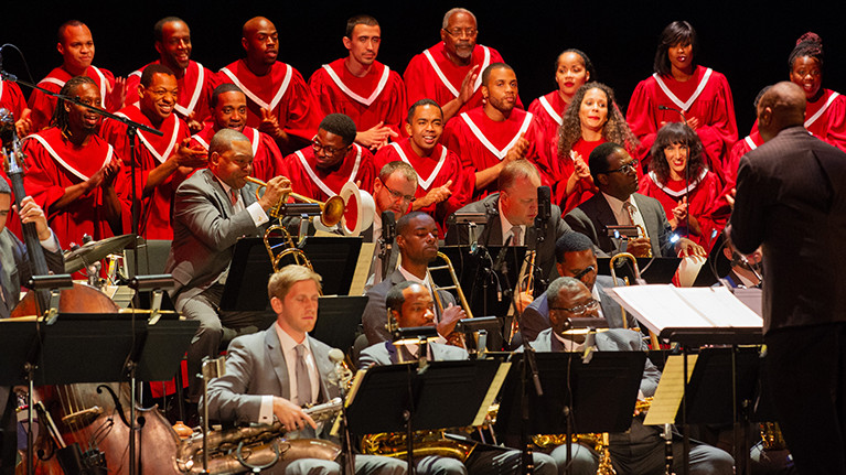 """<p><strong>Abyssinian Mass by Wynton Marsalis</strong></p> <p><span style=""""font-size: 10pt;"""">Presented in Collaboration with Lincoln Center's White Light Festival</span></p>"""